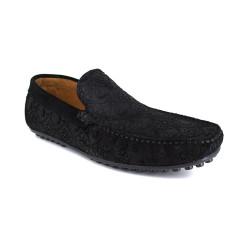 Loafer J.Bradford Black Leather JB-VEDETTE