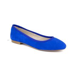Ballerina J.Bradford Blue Leather JB-POPPY