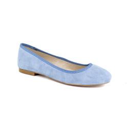 Ballerina J.Bradford Cuero Light blue JB-POPPY