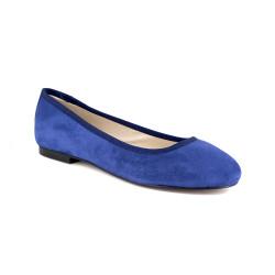 Ballerina J.Bradford Navy Blue leather JB-POPPY