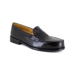 Loafer J.Bradford Black Leather JB-BUNBURY