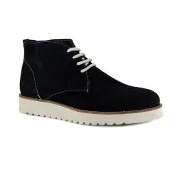 Womens Low Boots J.Bradford Black Leather JB-ELIZA