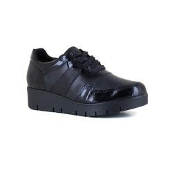 Womens Sneaker J.Bradford Black Leather JB-SILA