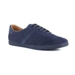 Mens Sneakers J.Bradford Navy Blue Leather JB-FLEX