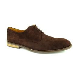 J.Bradford Shoes Derby Frenchi Brown