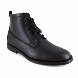 Low Boots J.Bradford Black Leather JB-APPLE