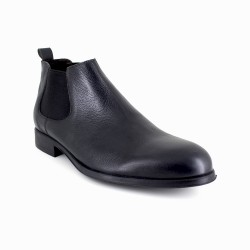 Low Boots J.Bradford Grey Leather JB-Bristol