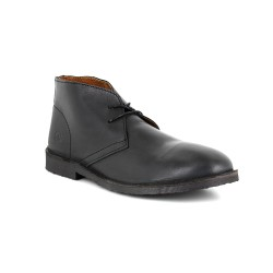 Low Boots J.Bradford Black Leather JB-OSVALDO