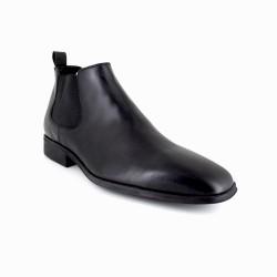 Boots J.Bradford Black Leather JB-Nerquis