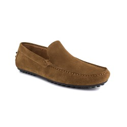 Loafer J.BRADFORD Cognac Leather JB-NAVY