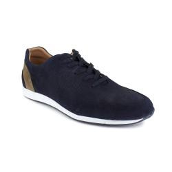 Sneaker J.Bradford Navy Blue Leather JB-GAYO
