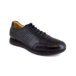 Dressed Sneaker J.Bradford Black Leather JB-JUCAR