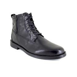 Low Boots J.Bradford Black Leather JB-ARCS
