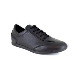 Sneaker J.Bradford Black Leather JB-CORNELY