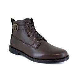 Low Boots J.Bradford Brown Leather JB-BARRY22