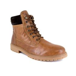 Low boot J.Bradford Cognac Leather JB-ALMOND